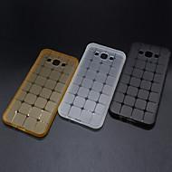 Для Кейс для  Samsung Galaxy Прозрачный Кейс для Задняя крышка Кейс для Геометрический рисунок TPU SamsungOn 7 / On 5 / J7 / J5 / J3 / J2
