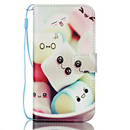 Для Samsung Galaxy S7 Edge Кошелек / Бумажник для карт / со стендом / Флип Кейс для Чехол Кейс для Мультяшная тематика Искусственная кожа