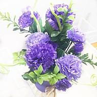 billige -hippocampal clove kunstige blomster hjemme dekorasjon bryllup forsyning