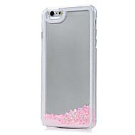 Назначение iPhone X iPhone 8 iPhone 7 Чехлы панели Движущаяся жидкость Прозрачный Задняя крышка Кейс для Сияние и блеск Твердый Акриловое