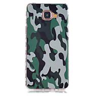 For Samsung Galaxy etui Mønster Etui Bagcover Etui Camouflage TPU for Samsung A5(2016) A3(2016)
