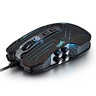 tanie Myszki-luom G5 3200dpi doprowadziły optyczne drgań 9d USB przewodowa mysz do gier oświetlone nowość myszy