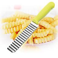olcso -1 db Cutter & Slicer For Növényi / Gyümölcs Rozsdamentes acél Kreatív Konyha Gadget / Több funkciós / Jó minőség