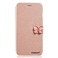 For Samsung Galaxy Case Flip / Magnetic Case Full Body Case Solid Color PU Leather Samsung A8 / A7 / A5 / A3
