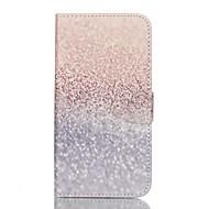 Для Samsung Galaxy S7 Edge Кошелек / Бумажник для карт / со стендом / Флип Кейс для Чехол Кейс для Градиент цвета Искусственная кожа