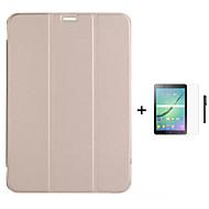 Недорогие Чехлы и кейсы для Galaxy Tab A 9.7-Кейс для Назначение Tab S 10.5 Tab S 8.4 SSamsung Galaxy Вкладка 9,7 Вкладка 8,0 Вкладка S2 9.7 Вкладка S2 8.0 со стендом С функцией