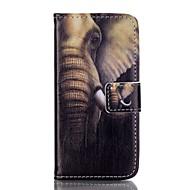 Назначение iPhone 8 iPhone 8 Plus Кейс для iPhone 5 Чехлы панели Бумажник для карт Кошелек со стендом Флип С узором Чехол Кейс для Слон