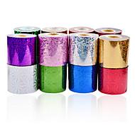 abordables Adhesivos para Uñas-Dedo / Dedo del Pie-Abstracto-Otras Decoraciones-PVC-1roll nail art foils-6cmX120m each piece- (cm)