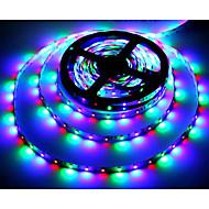 zdm ™ 5m 24w 300x3528 smd rgb light led strip lamp (dc 12v) di alta qualità