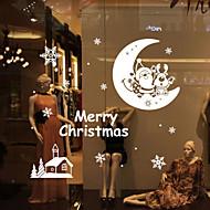 クリスマス / ロマンティック / 静物 / 形 ウォールステッカー プレーン・ウォールステッカー,vinyl 79*84.3cm