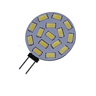 1.5 W 3000-3500/6000-6500 lm G4 LED Spotlight MR11 15 LED Beads SMD 5730 Decorative Warm White / Cold White 12 V / 24 V / 1 pc / RoHS