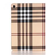 olcso iPad tokok-hq ultravékony luxus rács bőr tok iPad levegő 2 Smart Cover Apple iPad pro 12,9 hüvelykes táblagép