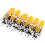 voordelige 2-pins LED-lampen-6pcs 2W 200 lm G4 2-pins LED-lampen MR11 1 leds COB Decoratief Warm wit Koel wit AC 12V DC 12V