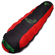 Sleeping Bag Mummy Bag +10°C Autumn Winter Keep Warm ventilated Quick Dry Windproof Breathable Ultra Light(UL) Thick Moistureproof Adult 220X80