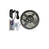 5050 150 SMD RGB és 44key távirányító és 3a eu tápegység (ac110-240v) LED szalag fény