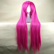 お買い得  -人工毛ウィッグ / コスチュームウィッグ ストレート ピンク 合成 ピンク かつら 女性用 非常に長いです ピンク hairjoy