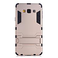billige Galaxy A8 Etuier-For Samsung Galaxy etui Stødsikker / Med stativ Etui Bagcover Etui Armeret PC Samsung A9 / A8 / A7