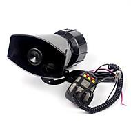 お買い得  -12V大声ホーン5は、車のオートバイPAスピーカーシステムトラックを鳴らします