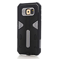 Недорогие Чехлы и кейсы для Galaxy S6 Edge Plus-Для Samsung Galaxy S7 Edge Защита от удара Кейс для Задняя крышка Кейс для Армированный PC SamsungS7 edge / S7 / S6 edge plus / S6 edge /