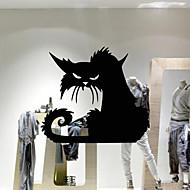povoljno -Životinje Crtani film Odmor Zid Naljepnice Zidne naljepnice Dekorativne zidne naljepnice, PVC Početna Dekoracija Zid preslikača