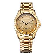 Недорогие Фирменные часы-CHENXI® Муж. Наручные часы Имитационная Четырехугольник Часы Японский Кварцевый Имитация Алмазный Нержавеющая сталь Группа Аналоговый Роскошь Мода Нарядные часы Золотистый - Золотой Черный Серебряный