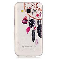 Назначение Кейс для  Samsung Galaxy Чехлы панели Прозрачный Задняя крышка Кейс для Ловец снов Термопластик для SSamsung Galaxy Grand