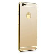 Carcasă Pro Apple iPhone 6 Plus / iPhone 6 Zrcadlo Zadní kryt Jednobarevné Pevné Hliník pro iPhone 6s Plus / iPhone 6s / iPhone 6 Plus