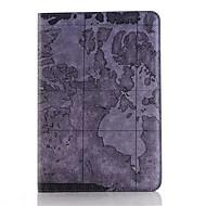 Χαμηλού Κόστους Θήκες/Καλύμματα για iPad-ρετρό στυλ χάρτη εκτυπώσεις pu δέρμα αναστροφή υπόθεση tablet σκληρό εξώφυλλο για το ipad mini 3/2/1 έξυπνη στάση προστατευτική θήκη