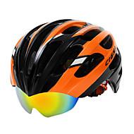 저렴한 -GIGNA 자전거 헬멧 싸이클링 27 통풍구 조절가능 산 탄소 섬유 +EPS 산악 사이클링 도로 사이클링 사이클링