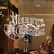 abordables Adornos de Navidad-Calcomanías Decorativas de Pared - Calcomanías de Aviones para Pared Paisaje / Animales Sala de estar / Dormitorio / Baño / Removible / Puede Cambiar de Ubicación
