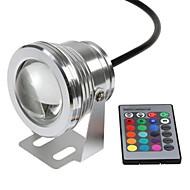 tanie Reflektory LED-Oświetlenie podwodne Zdalnie sterowany Wodoodporne Zdalnie sterowana RGB DC 12V