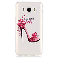 Назначение Кейс для  Samsung Galaxy Чехлы панели Прозрачный Кейс для Соблазнительная девушка для