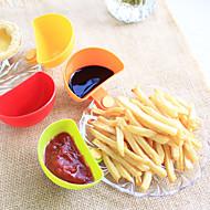 abordables Especieras-1pc Herramientas de cocina El plastico Cuchara para líquido