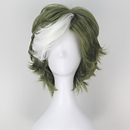Cosplay Wigs Kabaneri Of The Iron tvrđave ikoma Zelena Short Anime Cosplay Wigs 32 CM Otporna na toplinu vlakna Male