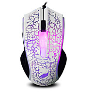 お買い得  マウス-WARWOLF ケーブル ゲーミングマウス 調整可能DPI バックライト 1000