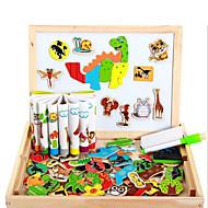 磁石玩具 小品 MM 磁石玩具 ジグソーパズル ウッド 動物 3D エグゼクティブおもちゃ パズルキューブ ギフトのため