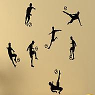 povoljno -Mrtva priroda / Oblici / Ljudi / Slobodno vrijeme / Sportske / 3D Zid Naljepnice Zidne naljepnice,vinyl 79*58cm
