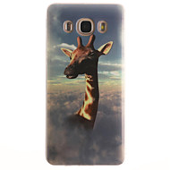 Недорогие Galaxy Core 2-Для Кейс для  Samsung Galaxy IMD Кейс для Задняя крышка Кейс для Животный принт Мягкий TPUTrend 3 / J7 (2016) / J5 (2016) / J5 / J1