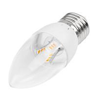 お買い得  LED キャンドルライト-350-400 lm E14 / B22 / E26 / E27 LEDキャンドルライト 埋込み式 18LED LEDビーズ SMD 2835 装飾用 温白色 / クールホワイト 85-265 V / 1個 / RoHs / CCC