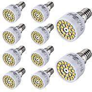 お買い得  LED スポットライト-2W 150-200 lm E14 LEDスポットライト T 24 LEDの SMD 2835 装飾用 温白色 クールホワイト AC 220-240V