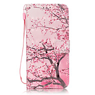 Для Samsung Galaxy S7 Edge Бумажник для карт / Кошелек / со стендом / Флип / С узором Кейс для Чехол Кейс для Цветы МягкийИскусственная