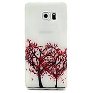 För Samsung Galaxy S7 Edge Självlysande Mönster fodral Skal fodral Träd Mjukt TPU för SamsungS7 edge S7 S6 edge plus S6 edge S6 S5 S4