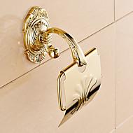 お買い得  浴室用小物-トイレットペーパーホルダー コンテンポラリー 真鍮 1枚 - ホテルバス