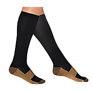 cheap Sports & Outdoors Accessories-Knee High Socks Unisex Compression for Exercise & Fitness Racing Running