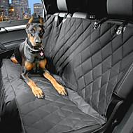 abordables Accesorios para Mascota-Perro Cobertor de Asiento Para Coche Mascotas Portadores Impermeable Portátil Negro