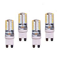 olcso LED betűzős izzók-G9 LED betűzős izzók T 64 led SMD 3014 550lm Meleg fehér Hideg fehér Dekoratív AC 220-240