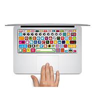 1개 스크래치 방지 투명 플라스틱 바디 스티커 무광 / 만화 이미지 / 울트라 씬 용 망막과 맥북 프로 15 '' / 맥북 프로 15 '' / 망막과 맥북 프로 13 '' / 맥북 프로 13 '' / MacBook Air 13''