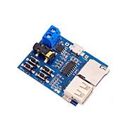 お買い得  Arduino 用アクセサリー-パワーアンプとmp3のロスレスデコードボードTFカードUディスクモジュール