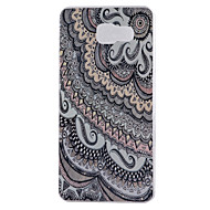 voordelige Galaxy A9(2016) Hoesjes / covers-Voor Samsung Galaxy hoesje IMD hoesje Achterkantje hoesje Camouflage Kleur Zacht TPU Samsung A9(2016) / A7(2016) / A5(2016) / A3(2016)