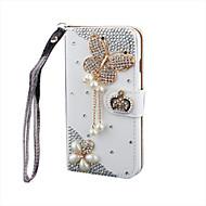 роскошный Bling кристалл& алмаз кожа флип-сумка для samsunggalaxygalaxys2 / s3 / s4 / s5 / s6 / s6e / s7 / s6e плюс
